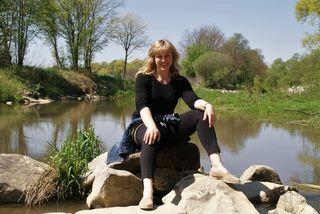 Andrea Werkovits liebt das Wasser und vor allem die Raab.