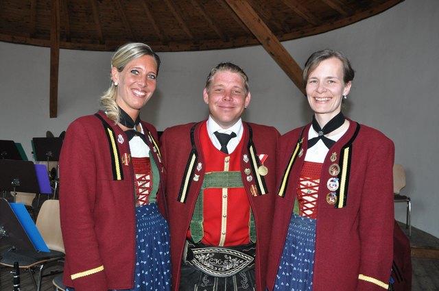 Die 3 Musketiere der MK Kreith: Sonja Penz, Christian Siller und Donata Schafferer.