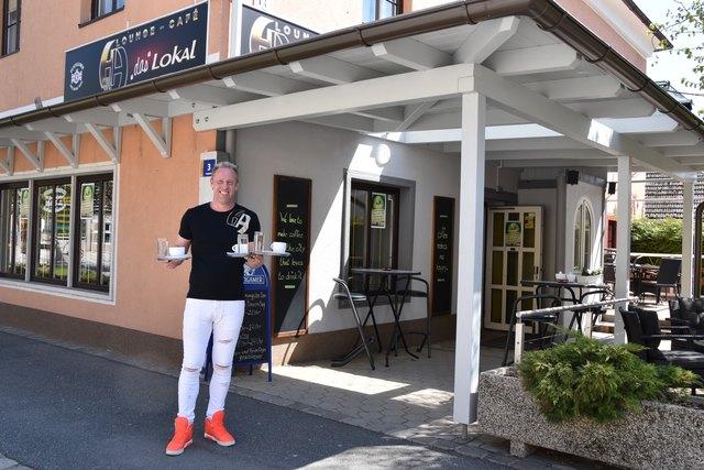 """Andreas Handke vor seinem """"HA – Das Lokal"""": """"Was ich jetzt erreicht habe, möchte ich halten. Ändern will ich nichts."""""""