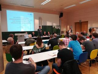 Großes Interesse: Die Versammlung an der TU Inffeldgasse war gut besucht.