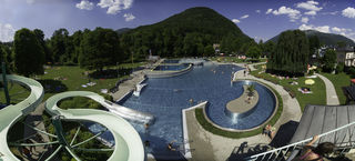 Die Badesaison in Bad Ischl wurde bereits eröffnet.