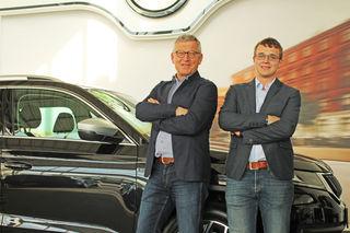 Am besten Weg zur Nummer eins sind Geschäftsführer und Inhaber Josef Diepold und sein Sohn Lukas Diepold.