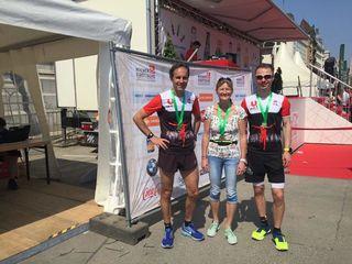 ULC Transfer St. Veit: Franz Sulzer, Helga Koberwein und Rainhart Kram-Aron lieferten tolle Leistungen ab.
