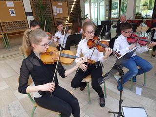 Das Jubiläumskonzert findet am Freitag, dem 27. April, im Kulturzentrum Jennersdorf statt.