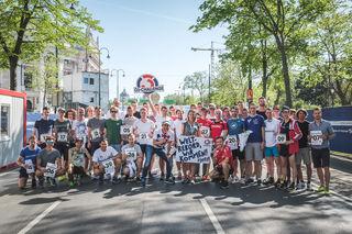 Die Ö3-Marathon-Challenge. Auch Kärntner waren mit am Start.