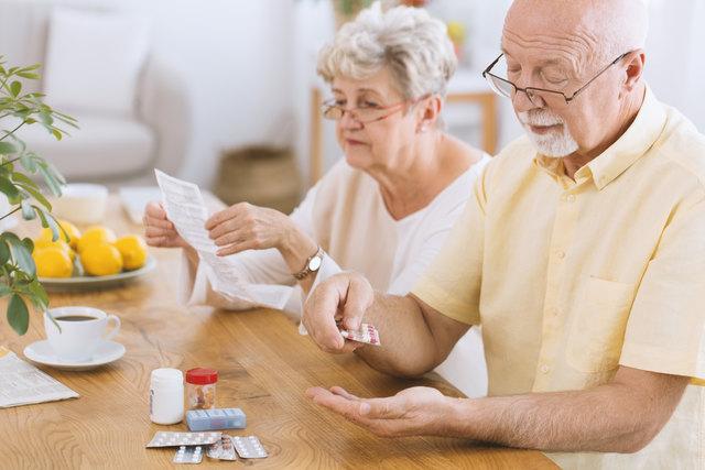 Wenn die verschriebenen Medikamente regelmäßig eingenommen werden, kann das Spitalsaufenthalte verhindern.
