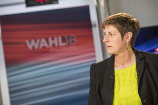 Die Grüne Spitzenkandidatin Astrid Rössler gab gestern ihren Rücktritt bekannt.