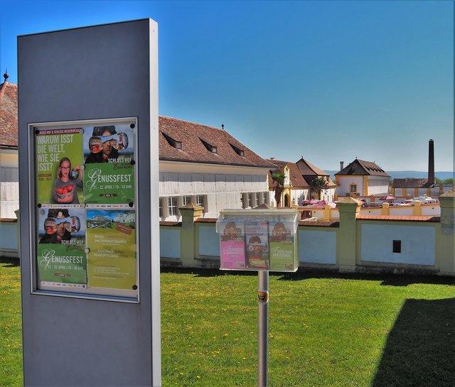 Ausstellung und GenussFest in Schloss Hof