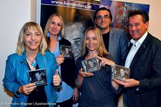 Sabina Reithofer, Anna Molander, Andrea Gutmann, Hubert Molander-Musikproduzent und Hannes Lanz