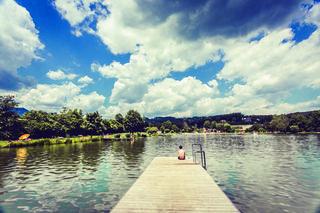 Sommerstimmung pur: Badeseen wie hier in Kumberg sind extrem beliebt.