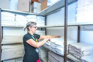 Im Einsatz: Verica Trajber arbeitet seit über drei Jahren im Wiesler.