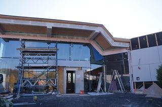 2015 während den Umbauten im Happyland.