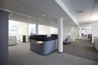 Büros werden tendenziell offener gestaltet.
