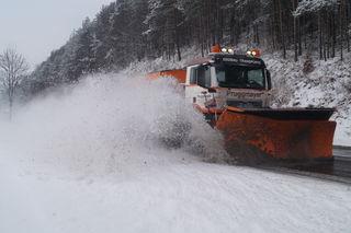 Im Winterdienst waren 670 Fahrzeuge eingesetzt – 360 der Straßendienst und 310 angemietete.