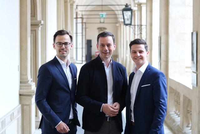 GU-Nord entscheidet mit: Philipp Ozek, Ernst Gödl und Lukas Tödling