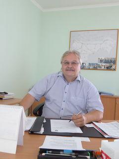 Felix Böhm leitet die Straßenmeisterei Bruck, die größte in NÖ.