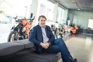 Stefan Pierer, KTM-Chef, will in Zukunft den indischen Markt erobern.