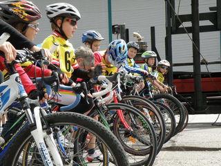 Kinder zwischen zehn und 15 Jahren sind zum gemeinsamen Radeln eingeladen.