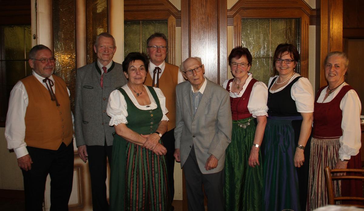 Hagenberger Ehrenburger Feierte 90 Geburtstag Freistadt