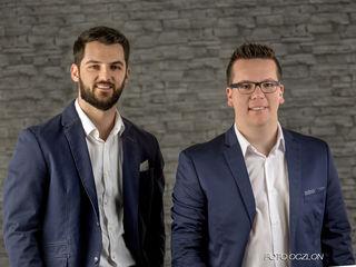 Franz Brandner (re.) und sein Partner Hasib Mahmutovic betreiben Reset Reinigung seit 1.1.2018.