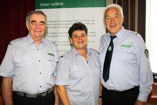Der Bezirk war beim Landestag der Berg- und Naturwacht durch Franz Stermole/Ortsgruppe Gratkorn, Grete Kellner-Freisl/OG Kalsdorf und Bezirksleiter Johann Eibisberger/OG Semriach vertreten.