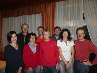 Das Organisationsteam des Traisentaler Berglaufcups rund um Karl Schachinger (r.) von der Union Annaberg.
