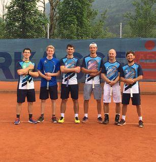 Die Herrenkampfmannschaft des TC Bad Ischl siegte gegen Vorchdorf mit 9:0.
