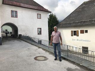 """Für Robert Poscheschnig ist die Kirchgasse, der historische Stadtkern Ferlach, der ideale Standort für ein """"Kreativ Quartier"""""""