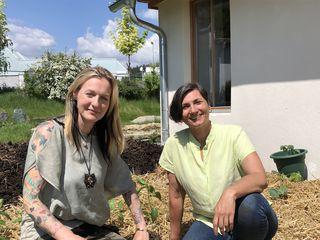 Petra Horni-Dereani (li.) und Alexandra Margarita Sacher Santana setzen auf Nachhaltig- und Achtsamkeit