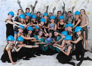 Die jungen, kreativen Tänzerinnen zeigten ihr Können.