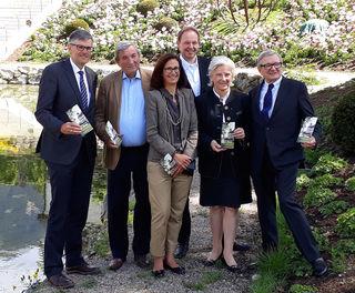 Bgm. Klaus Winkler, Max Lamberg, Maike Middelmann, Carl Philip von Maldeghem, Signe Reisch, Heinrich Spängler.