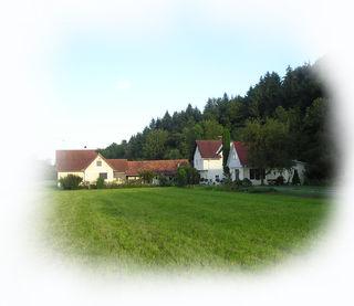 Die Elxenbacher Kunstmühle, ein altes Anwesen, in dem früher Korn gemahlen wurde, wo heute Kunst und Kultur entstehen.