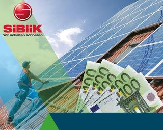 Saubere Energie durch die Sonnenstrahlung hilft auch noch Geld sparen. Siblik informiert, wie das geht.