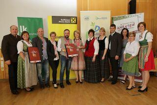 Elf Medaillen für Karoline und Wilfried Kogler von der Buschenschenke Sonnleitnhof