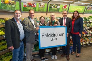 Eröffnung des neuen Spar-Supermarktes