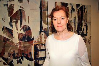 Isolde Leinholz setzt in ihren Werken abstrakte Akzente zu gesellschaftspolitischen Themen