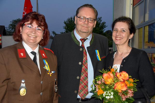 Andrea Barnert, Heimo und Andrea Kern.