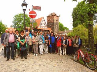 Die Senioren aus der Gemeinde Fallbach genießen ihre Reise nach Bayern