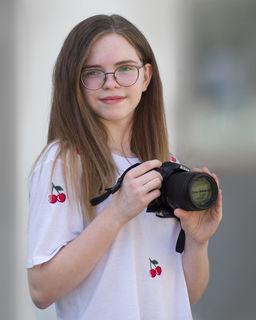 Leonie Zeller, 14 Jahre, besucht die Fotoakademie St. Pölten