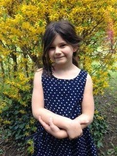 Marie Zwazl, 7 Jahre, besucht die Schauspielakademie KIDS Neunkirchen