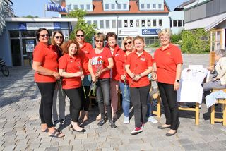 Die SPÖ-Frauen verwöhnten die Kalsdorfer mit einem Frühstück unter freiem Himmel.