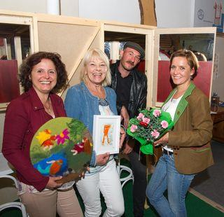 Dabei: Sonja Spreitzer Paumgarten, Maria Harder, Sascha Mikel und Tamara Bergmann