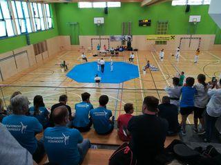 In der neuen Turnhalle Schwarzach wurde der spannende Landesmeisterschaftsbewerb abgehalten.
