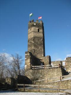 Die Burgruine Krems kann besichtigt werden.