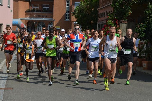 Das Motto beim 25. Mugel-Berglauf: Alle laufen für Alexander.