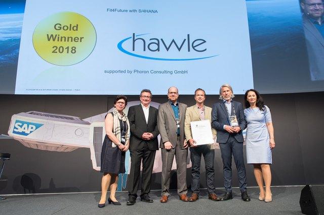 """Kategorie """"Innovation""""-Awards: Gold für die Vöcklabrucker Hawle Beteiligungsgesellschaft m.b.H."""