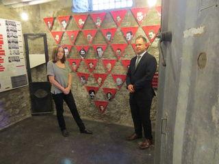 Den Brigittenauer Widerstandskämpfern ist ein eigener Raum in der Gedenkstätte gewidmet.