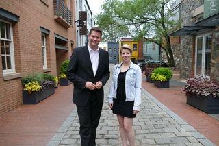 Lukas Mandl und Elisabeth Sedmik plauderten in Washington über die Heimat.