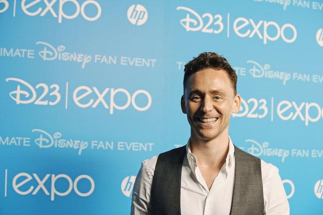 Tom Hiddleston bekam Lachanfälle