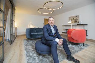 Hotelier Andreas Gfrerer führt die Blaue Gans in der fünften Generation.
